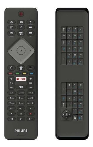 control remoto philips 4k qwerty 43pfg5102 50pug6102 palermo