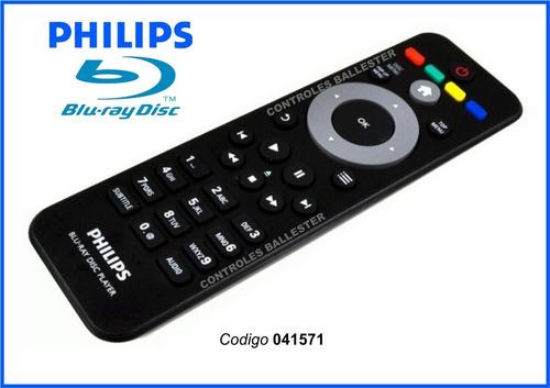 control remoto philips para bluray **original**