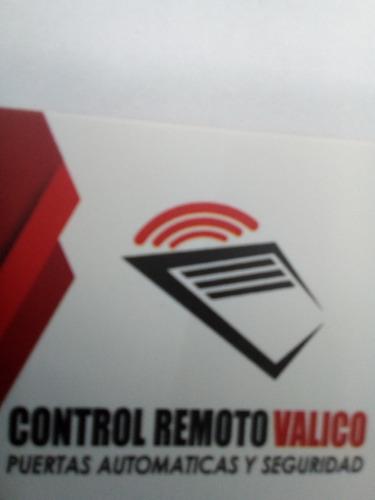 control remoto puerta levadiza, seccional ,todas las marcas