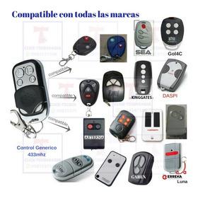 Control Remoto Puertas Automaticas Todas Las Marcas Came
