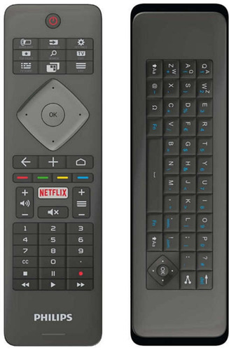control remoto qwerty p tv philips 4k 49pug6801 43 palermo
