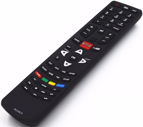 control remoto rc3100l07 netflix smart tv tcl hitachi noblex