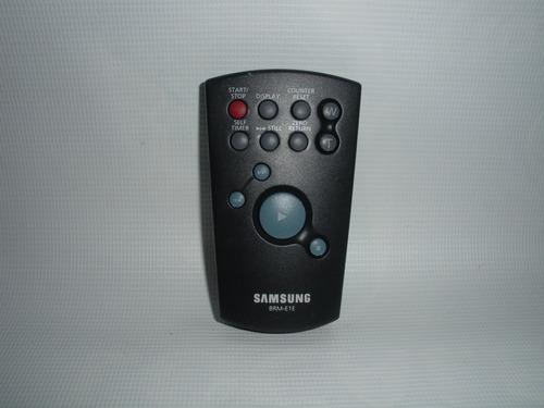 control remoto samsung brm-e1e usado pa camcorder sc-l650