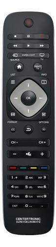 control remoto smart tv para led philips botón casita cc 3d