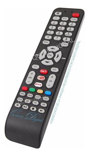 control remoto smart tv para master g recco hitachi netflix