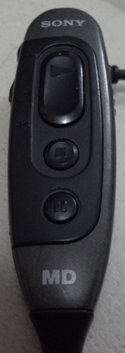 control remoto sony para minidisc rm-mz30mp y auriculares eg