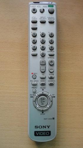 control remoto sony, video grabador.
