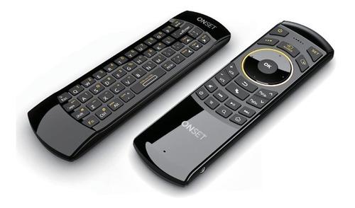 control remoto teclado inalambrico smart tv pc + air mouse