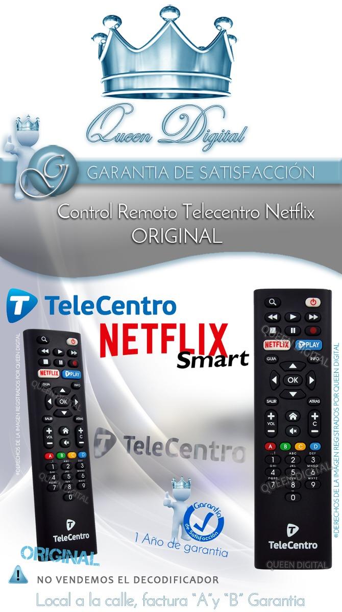 07df81628a0 Control Remoto Telecentro Netflix Original Dciw303 Hd - $ 239,90 en ...