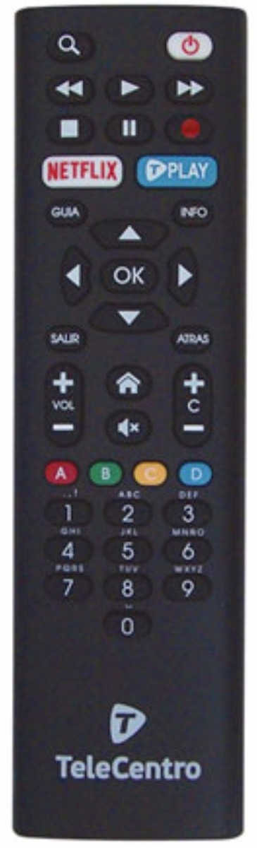 42c013d73bb control remoto telecentro play netflix hd dciw303 t-play. Cargando zoom.