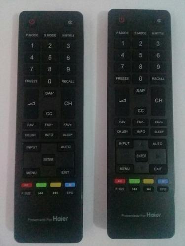 control remoto televisor haierrr