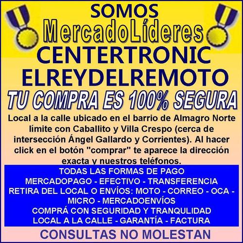 control remoto tv bgh noblex tcl telefunken rca 2787 3178