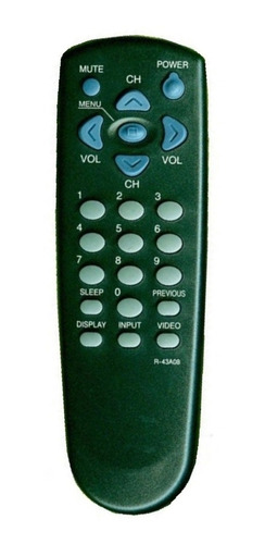 control remoto tv daewoo philco 2450