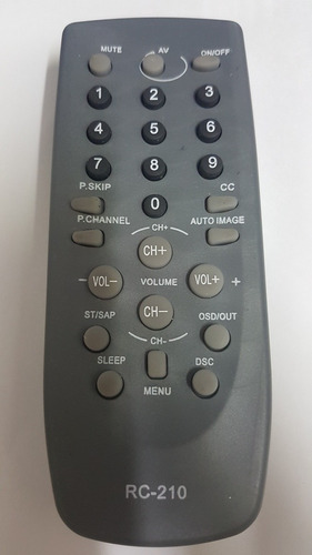 control remoto tv daka, cce,mkteck,cyberlux nuevos