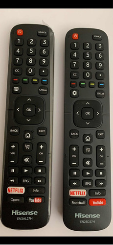 control remoto tv hisense smart tv originales