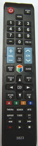 control remoto tv lcd led samsung smart ref. 097