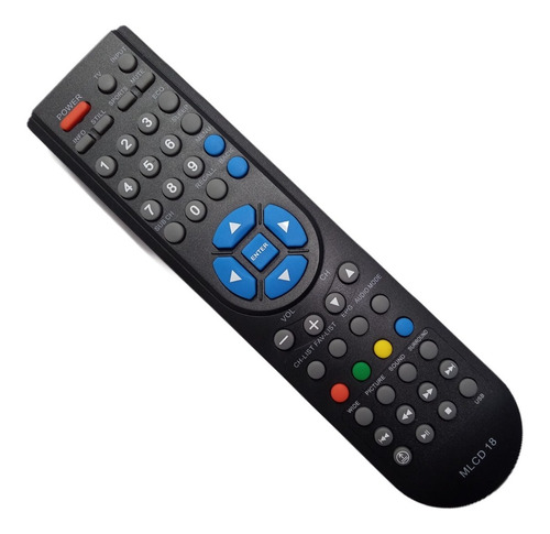 control remoto tv  lcd sanyo philco jvc noblex jxpys 3599