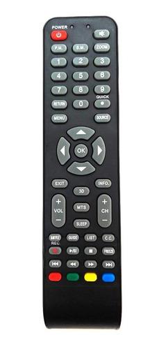 control remoto tv led noblex jvc pioneer sanyo philco ilo 3d