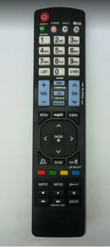 control remoto tv lg akb72914257 lcd led 3d