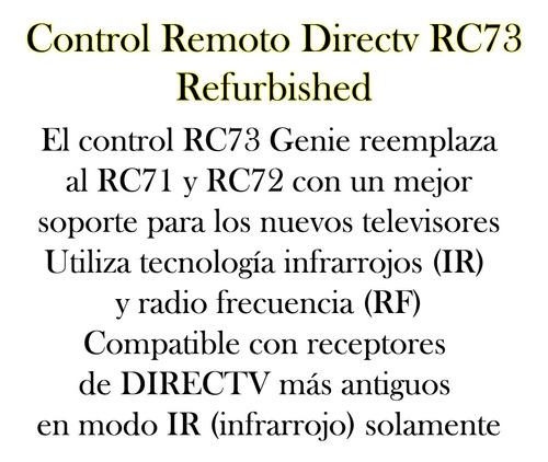 control remoto tv original rc73 refurbished bagc