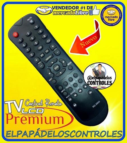 control remoto tv premium lcd plcd-32d100 // nuevo.!!!
