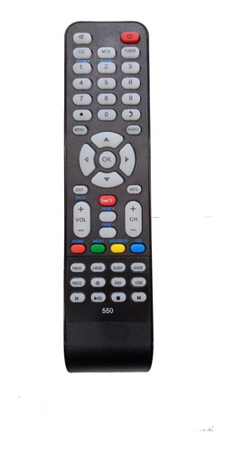 control remoto tv steel home minisonic panoramic w.e. rc550