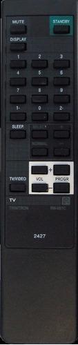 control remoto tv34 p/ tv sony trinitron rm-687 1 año grtia