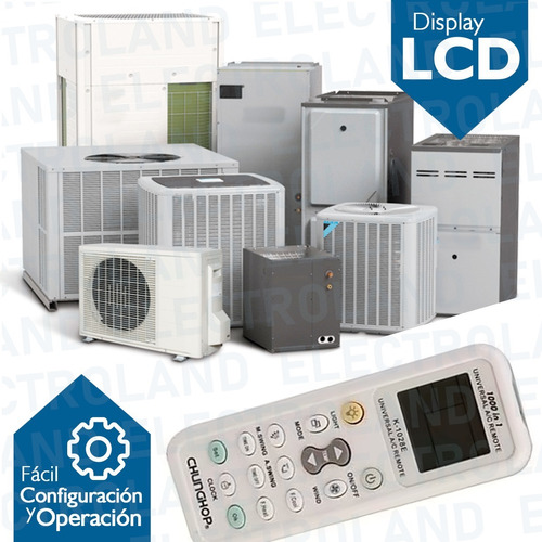 control remoto universal aire acondicionado todas las marcas