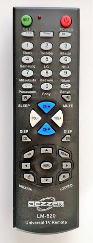 control remoto universal automatico para televisores