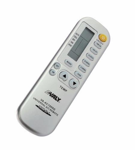 control remoto universal avaly va-ac1000g