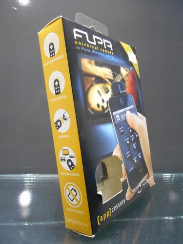 control remoto universal flpr para ipod, iphone y ipad