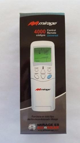control remoto universal mirage original