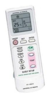control remoto universal para a/c aire acondicionado marcas