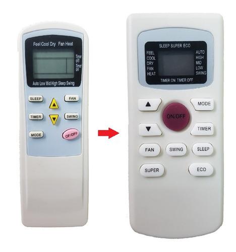 control remoto universal para aire acondicionado daewoo