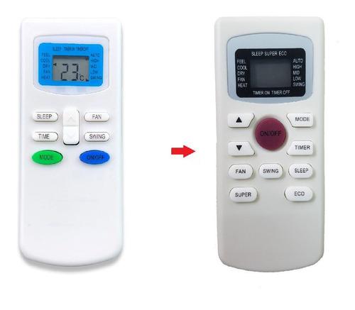 control remoto universal para aire acondicionado kelvinator