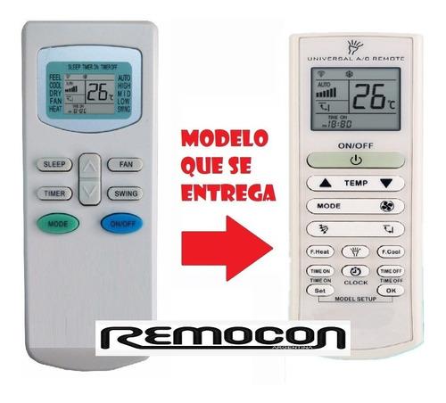 control remoto universal para aire acondicionado  rca envios