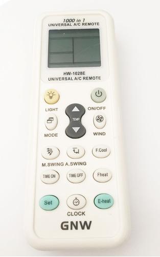 control remoto universal para minisplit 1000 codigos ee3
