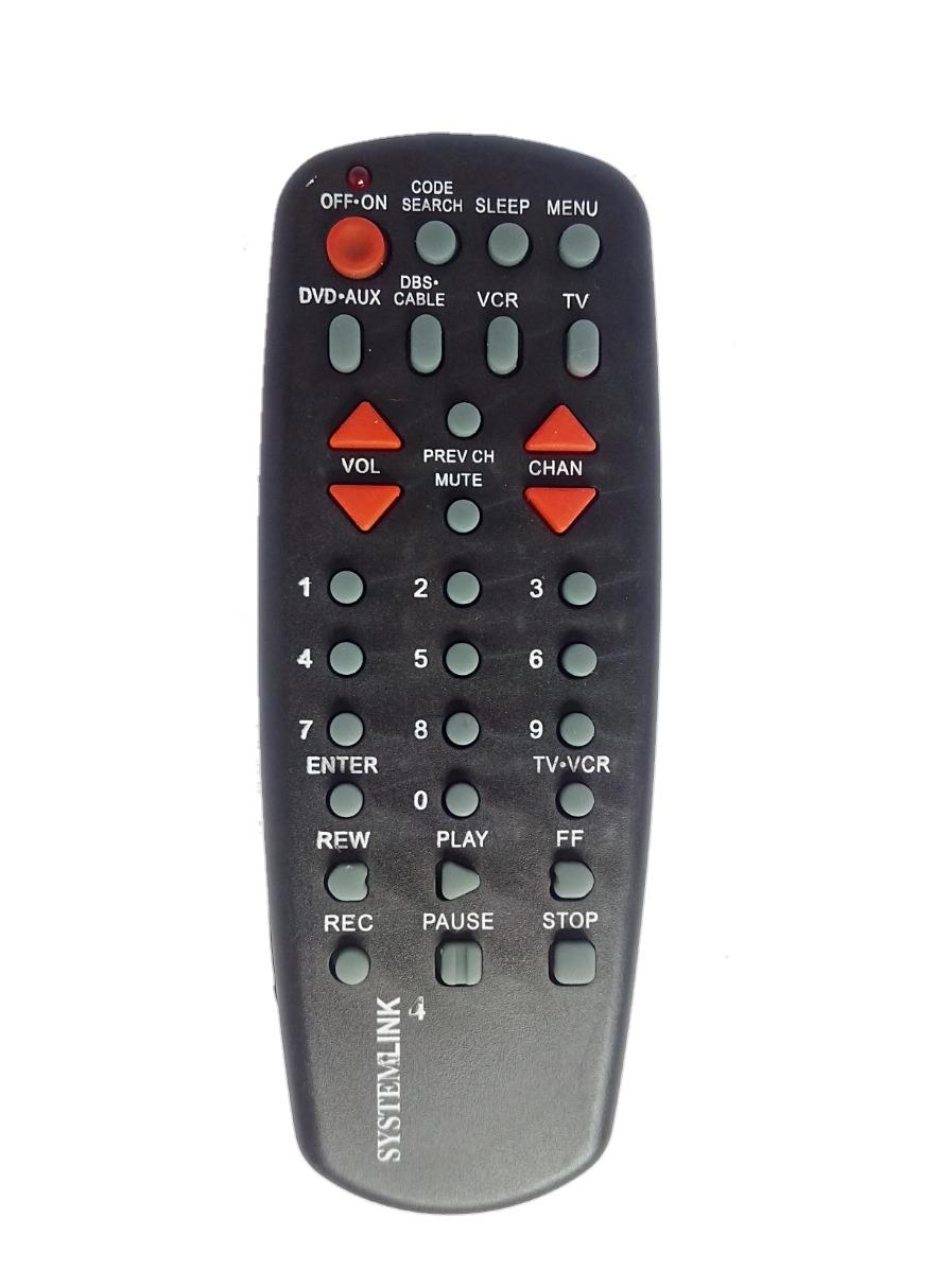 Control Remoto Universal Rca 4 En 1 Tv Cable Dvd Vhs Y