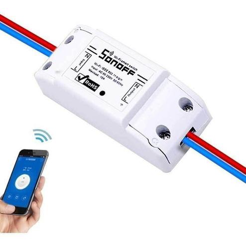 control remoto wifi sonoff para domótica, proyectos diy