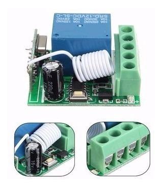 control remoto y relé receptor inalámbrico, multiusos