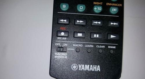 control remoto yamaha