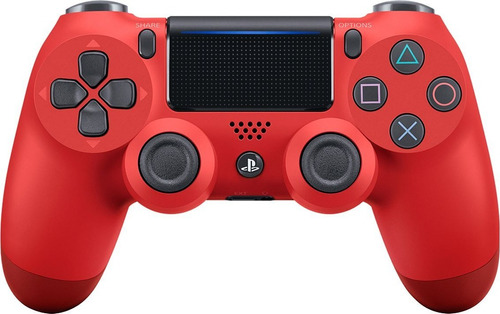 control rojo ps4 dualshock 4 +grips. 2da generacion