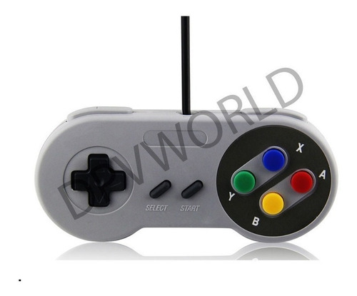 control snes classic usb pc windows tipo super nintendo
