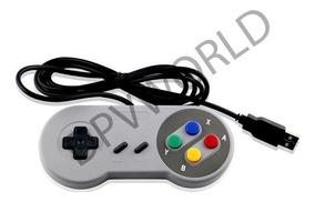 Control Snes Classic Usb Pc Windows Tipo Super Nintendo