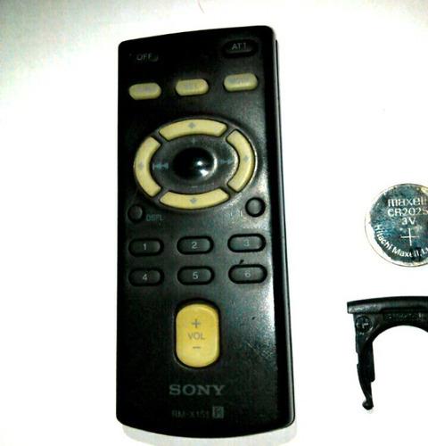 control sony para rm x151