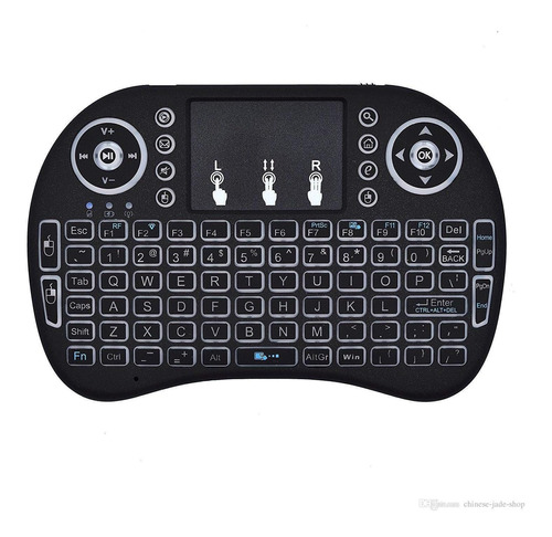 control teclado smart tv con mouse usb android practico nnet