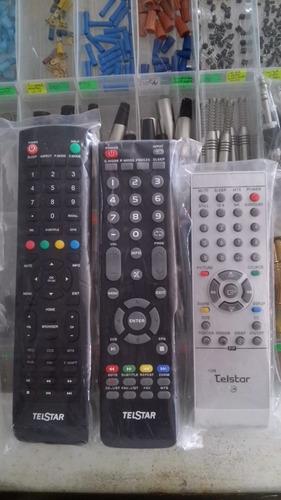 control telstar para pantallas originales smart tv, led,lcd