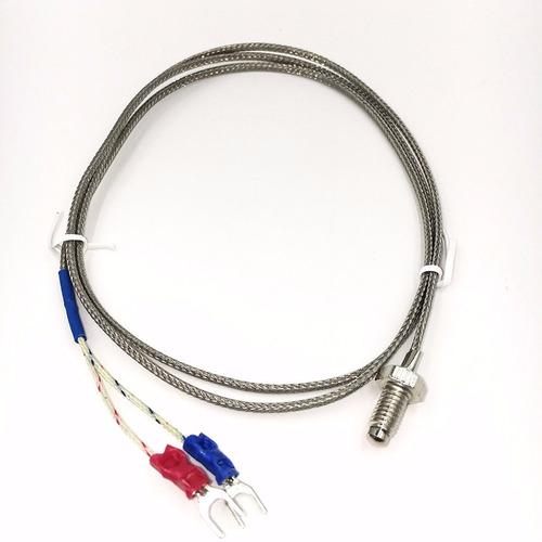 control temperatura pirometro  rex-c100 tipo k y relé ssr