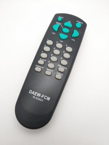 control tv daewoo (3 un)