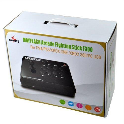 control universal mayflash f300 arcade lucha palillo palanca